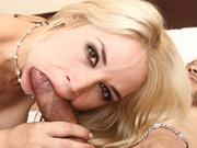 Blonde babe Sarah Vandella in anal hardcore action