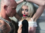 Chloe Cherry trouble teen in rehab is bound and spanked by guard