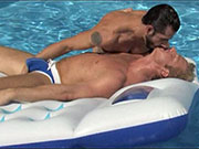 If you like watching two masculine guys fucking in their speedos.... enjoy.