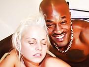 Slutty white girl blacked with Alexandra Cat