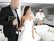 Horny Bride Kelsi Monroe Cheats with a Big Dick on Her Wedding Day