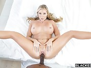 Samantha Saint gets fucked all over the house by big black dick