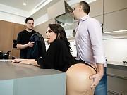 Perfect Hostess Lela Star Fucks Her Husband's Boss At The Dinner Party