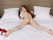 Redhead Jia Lissa is a hot and kinky babe