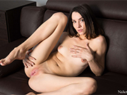 Adel Morel Enjoys Showing Her Juicy Pussy
