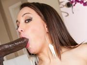 Gabriella Paltrova on a bbc in anal sex and facial