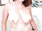 Stunning Milf Redhead in Sexy Evening Dress