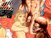 Lusty blonde fucked hard by producers on film casting