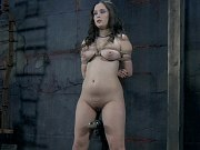 Charlotte Vale high heels babe in bdsm training bound by maledom