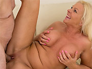 Casey Szilvia mature blonde with big boobs fucking hard