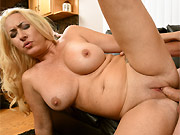 This cutie gets her round butt plugged with a fat cock
