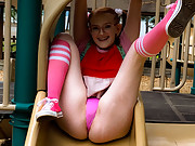 Marina sub is rope bound and put on milking machine by Cyd Black