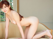 Ball licking and dep throating dick makes Chiaki's pussy wet