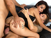 Blonde mature Erica Lauren rides a cock and suckin