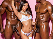 Babe needs at least two black cocks for total satisfaction