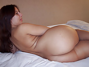 Cute chubby doing nude casting couch