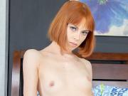 Alexa Nova fiery redhead butt cum covered after hardcore sex in bedroom
