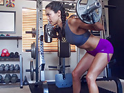 Gym girls with tight ass bodies
