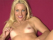 Tan lines small tits milf strips naked