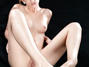 Kristen Scott has a hot new foot and pussy bukkake video