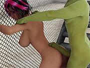 Arousing 3d porn pics of rendered debauchery