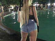 T-girls with big cocks working on the streets