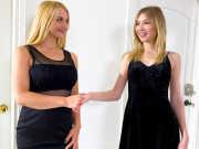Mackenzie Moss helps Sarah Vandella go lesbian