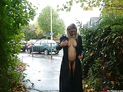 Amateur wife flashing and mature public nudity