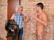 Granny Elvira leaves John a mess to clean up