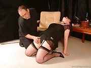 BBW Erotic Food Humiliation and spanking of submissive Nimue Allen