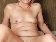 Kinky Milf Secretary Stripping Out Of Her Black Dress