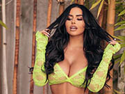 Busty Abigail Ratchford sexy Lingerie photoshoot