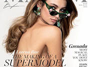 Lorena Rae see through and topless for Maxim Magazine