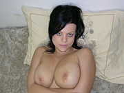 Big Breasted Amateur Mature MILF Showing Her Natural Tits