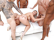 German pornstar Jolee Love dp and dap fun