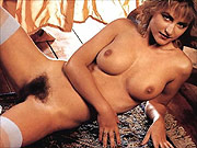 Variety of lovely retro nudes posing
