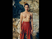 Hana Jirickova sexy and topless for Vogue Magazine, Paris