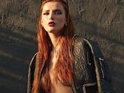 Bella Thorne braless for Grazia Magazine