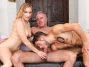 Dante and Kasey give Dale a massage and more